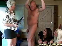 Kinky teacher proves her husband he needs to be more careful in cheating.