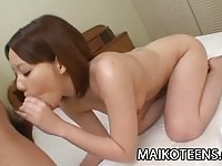 Sweet Aoi Fukasawa gets fucked!
