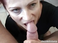 Hot Czech housewife sucking dick and getting fucked