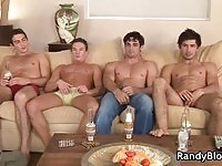 Sexy hunks in ready to fuck