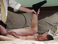 Hot guy get anxios of lust feeling a hard on massaging his ass.