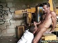 French jocks in rimjob and oral