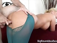 Awesome booty gets nailed in here