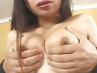 Horny asian pumped deep in the cunt