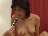 Nasty Nippon in anal penetration