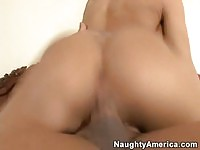 Adorable brunette Rachel Starr fucked and facialized