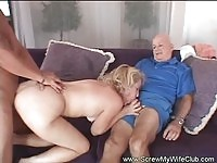 Mrs. Wolf nailed by a dude