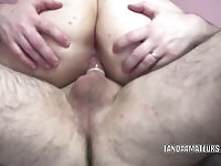 Busty Christine Rhydes takes that cock deep