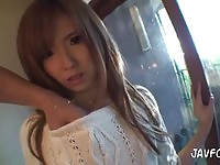 Cute Japanese Girl Gives Delicious BJ