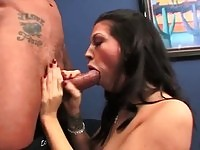 Roxy DeVille gets her cunt stuffed with dick