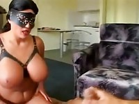 Busty nymph Laura Orsolya gets anal sex