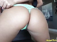 Hot assfucked brunette waiting for her facial