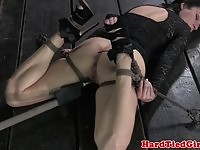 Dirty Veruca James gets punished