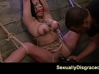 Fetish doll Becca Diamond fucked and tortured