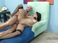 Hot Latina officer Lacy Cruz ravaged by cock