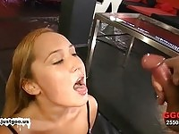 German slut in group fuck