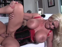 Busty blonde Alura Jenson gets nailed