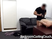 Redhead amateur gets anal for the audition