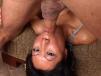 Japanese chick nailed and face fucked