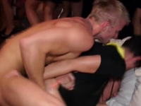 Party amateurs from Europe getting fucked in the club