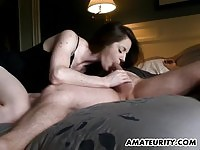 Amateur girlfriend Suck and Fuck boyfriend's cock