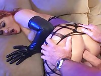 Gorgeous milf taking cock in the ass