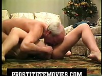 Mature Couple Having Fun On The Floor
