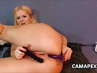 Curvaceous%20blonde%20cam%20girl%20uses%20two%20dildos