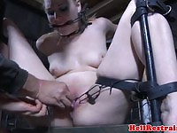 Chained%20sub%20gets%20her%20pussy%20toyed%20by%20maledom