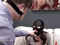 Beautiful sub gets her gorgeous ass spanked red
