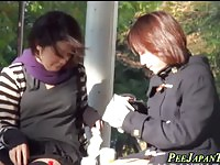 Amateur Japanese Girls Peeing On Public
