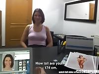 Hot hooker wrestling her boys big cock off