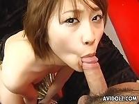 Reimi Fujikura doing her stuff!