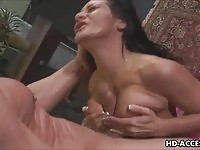 Gag on hard cock slut!