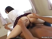 Japanese schoolgirl fucked!