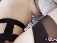 Gorgeous redhead likes it up the ass